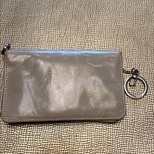 Hobo grey keychain wallet